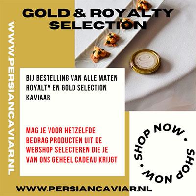 actie gold en royal